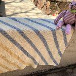 Snuggly Stripes Baby Blanket