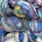 Wool/Silk Fiber - Foothills Storm