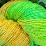 Superwash Sock Yarn - Green Lacerta (The Lizard)
