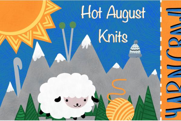 Hot August Knits Yarn Crawl -- 2021