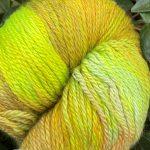 Hand-Dyed Silk/Merino/SeaCell Silk -- Moss Rock
