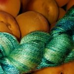 Hand-dyed Very Fine Silk -- Luna Butterfly