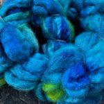 Merino/Silk Fiber - Parakeet Party