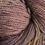 Superwash Sock Yarn - Little Brown Bear with Sparkle